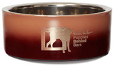 Nicole Miller Puppies Behind Bars Dog Bowl