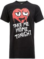 Dom Rebel Take Me Home Tonight T-shirt - men - Cotton - XL