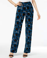 Alfani Printed Pull-On Pants, Only at Macy's