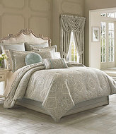 J Queen New York Colette Damask Comforter Set