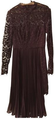 AMUR Burgundy Lace Dress for Women