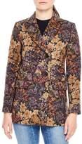 Sandro Women's Alma Print Jacquard Jacket