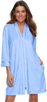 Croft & Barrow Women's Zip-Front Terry Robe