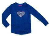 Betsey Johnson Girls' Heart Sweater.