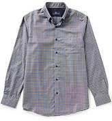 Hart Schaffner Marx Multi-Check Long-Sleeve Woven Shirt