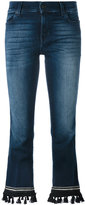 7 For All Mankind bootcut cropped jeans - women - Cotton/Polyester/Spandex/Elastane - 25