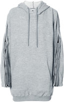 Y/Project Y / Project - oversized hoodie - men - Cotton/Spandex/Elastane - XS