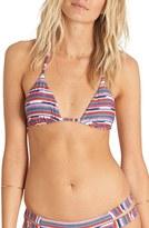 Billabong 'Seeing Stripes' Triangle Bikini Top