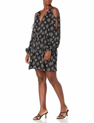 The Fifth Label Women's Long Sleeve Short Wrap Dress