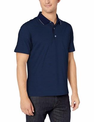 Robert Graham Men's NORTHCLIFF Short Sleeve Knit Polo