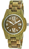Earth Wood Olive Bracelet Watch