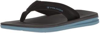 Volcom Men's Draft flip Flop Sandal