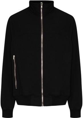 Rick Owens Stand-Collar Zip-Front Sweatshirt