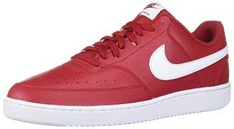 Nike Men's Court Vision Lo Low-Top Sneakers, Red (Gym Red/White 103)