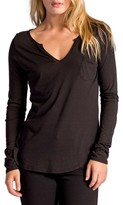LAmade Women's Split Neck Tee