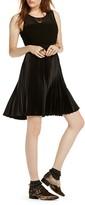 Scotch & Soda Illusion Yoke Pleated Dress