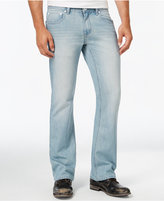 INC International Concepts Men's Hoskin Modern Boot-Fit Light-Wash Jeans, Only at Macy's