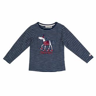 Salt&Pepper Salt and Pepper Girls' Cool & Crazy Pferd mit Pailetten Longsleeve T - Shirt