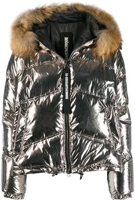 As65 faux fur lined padded jacket