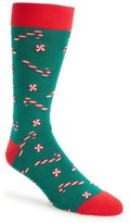 Hot Sox Candy Canes Socks (3 for $30)
