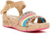 Mia Mylie Wedge Sandal (Little Kid & Big Kid)