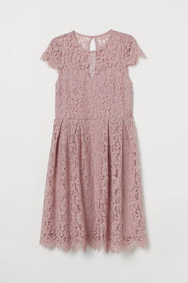 H&M H&M+ Calf-length lace dress