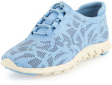 Cole Haan Zerogrand Perforated Leather Sneaker, Dusk Blue