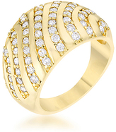 Kate Bissett Cubic Zirconia & Gold Shayla Ring