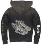 Butter Shoes Girls' Wing Sneakers Hoodie