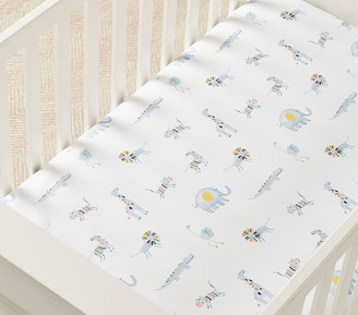 Pottery Barn Kids Organic Ollie Crib Fitted Sheet