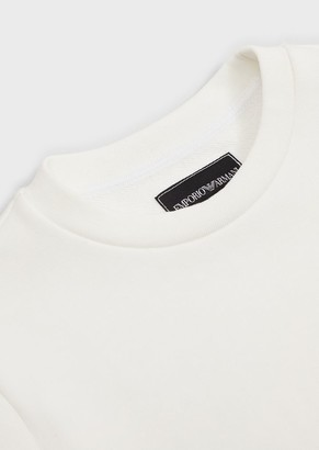 Emporio Armani Sweatshirt With Micro Ea Patch