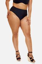 Fashion to Figure Helena High-Waist Mesh Bikini Bottom