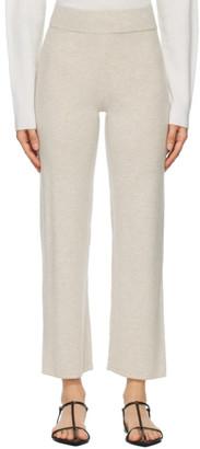 Le Kasha Beige Cashmere Ottawa Lounge Pants