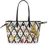 MCM Reversible Printed Shopper Tote Bag