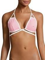 Vitamin A Serra Halter Bikini Top