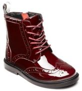 Burberry Kid's Jerwin Patent Leather Brogue Boots