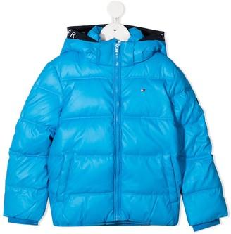 Tommy Hilfiger Junior Padded Zip-Up Coat