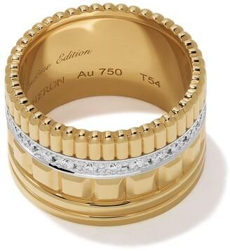 Boucheron 18kt yellow gold Diamond Quatre Radiant ring