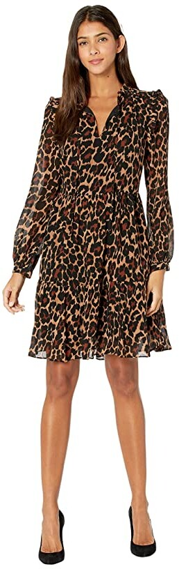 Thumbnail for your product : J.Crew Ruffle Tie Neck Dress Women's Dress
