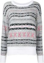 Coohem Fair Isle jumper - women - Cotton/Acrylic/Nylon/Wool - 36