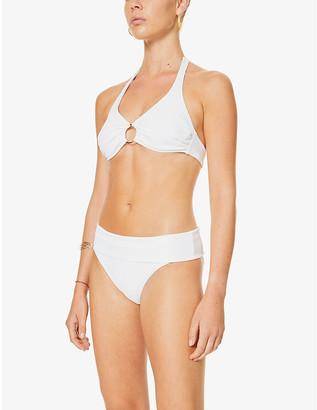 Melissa Odabash Brussels high-waisted bikini bottoms