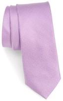 Nordstrom Men's Maison Solid Silk Skinny Tie