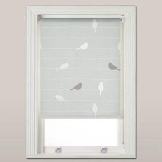 John Lewis & Partners Bird on a Wire Daylight Roller Blind, Mineral