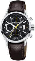 Raymond Weil Watch, Men's Chronograph Brown Leather Strap 7730-STC-20101