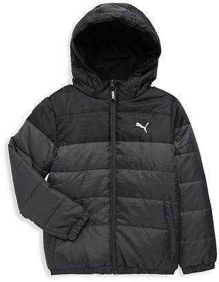 Puma Boy's Colorblock Bubble Jacket
