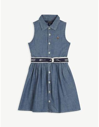 Ralph Lauren Chambray cotton shirt dress 4-14 years