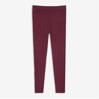 Joe Fresh Kid Girls' Sweater Legging, Dark Navy (Size M)
