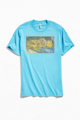 Urban Outfitters Van Gogh Four Withered Sunflowers Tee