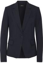 Theory Gabe Wool-blend Crepe Blazer