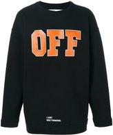 Off-White Men's Omba007f171920441019 Cotton Sweatshirt